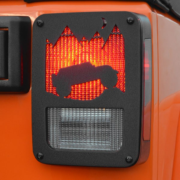 Jeep Tweaks Tail Light Guards, 07-17 Wranglers