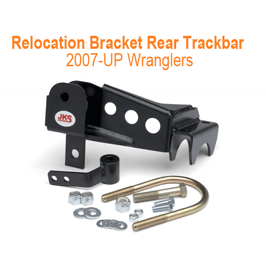 Relocation Bracket Rear Trackbar 07-13 Wranglers