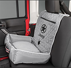 PetBed2GO Gray Pet Bed Cushion Cover Jeep Star