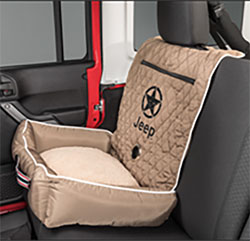 PetBed2GO Tan Pet Bed Cushion Cover Jeep Star