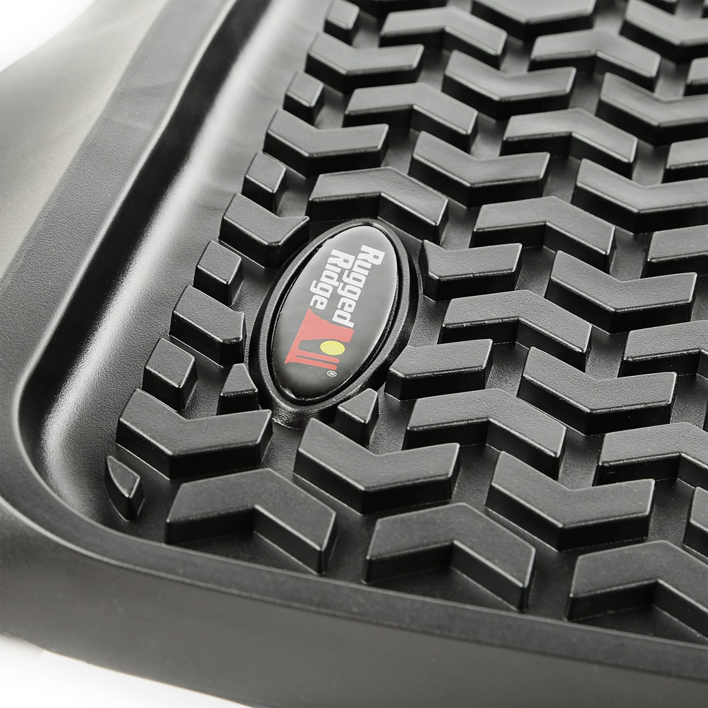 All Terrain Floor Liner, Rear, Black, 10-13 Toyota 4Runner
