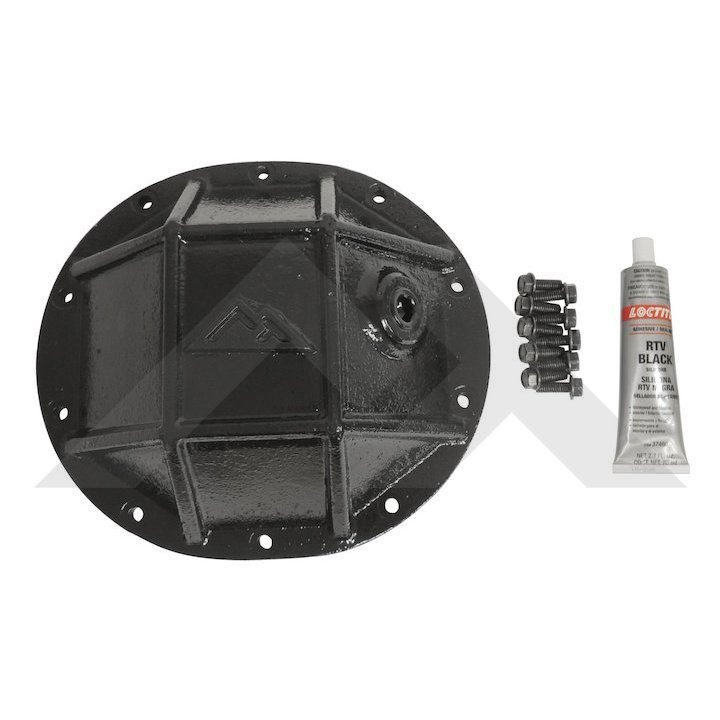 "8.25"" Rear Axle Differential Cover, Black"