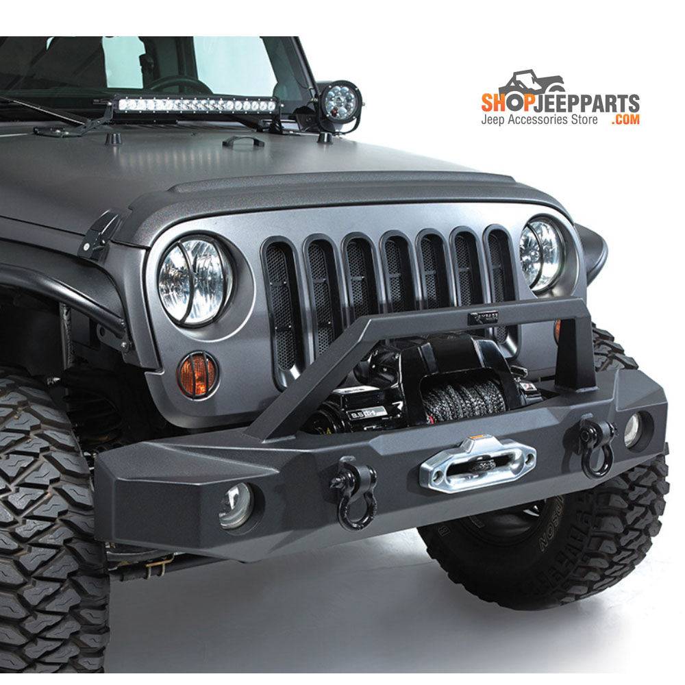 Jeep Renegade With Lift >> Jeep Wrangler JK Trailguard Front Bumper | ShopJeepParts.com
