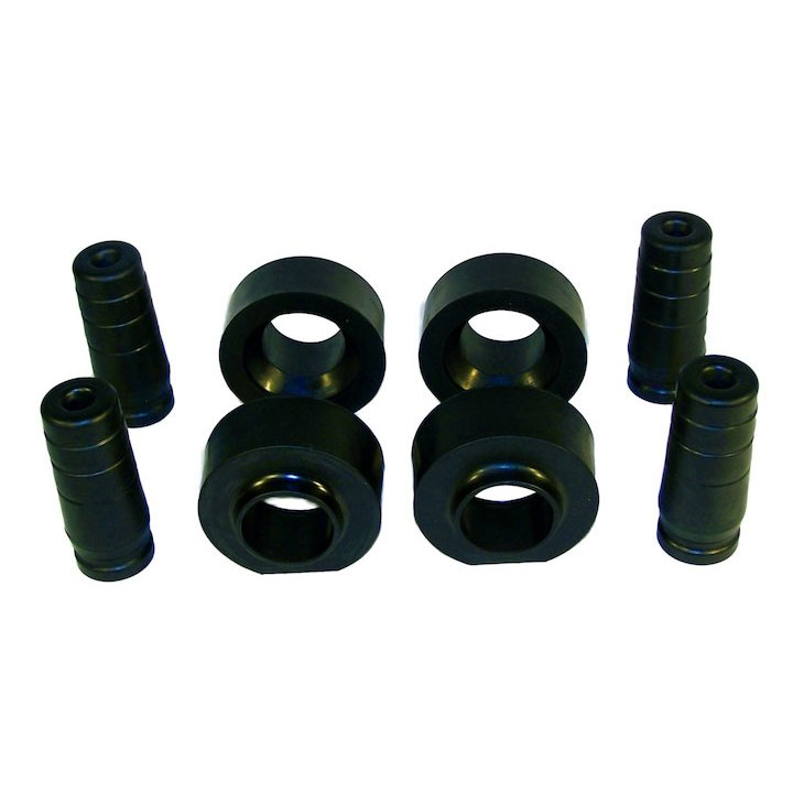 "1.75"" Spacer Lift Kit with Poly Spacers, 97-06 Wranglers"