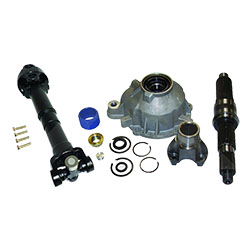 Slip Yoke Eliminator and Shaft Kit, 87-06 Wranglers