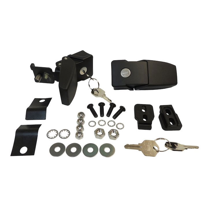 Locking Hood Catch Kit 07-18 Wranglers JK