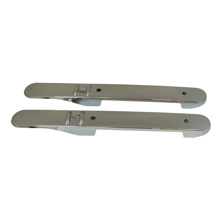 Interior Front Door Accents, Chrome, 07-10 Wranglers