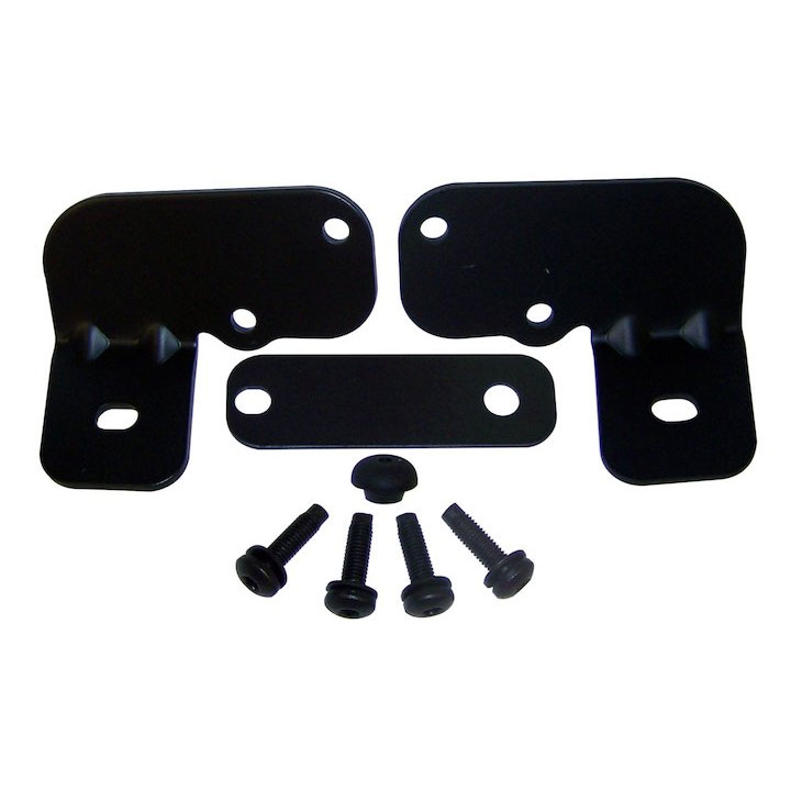 Windshield Light Bracket Kit 07-15 Wranglers