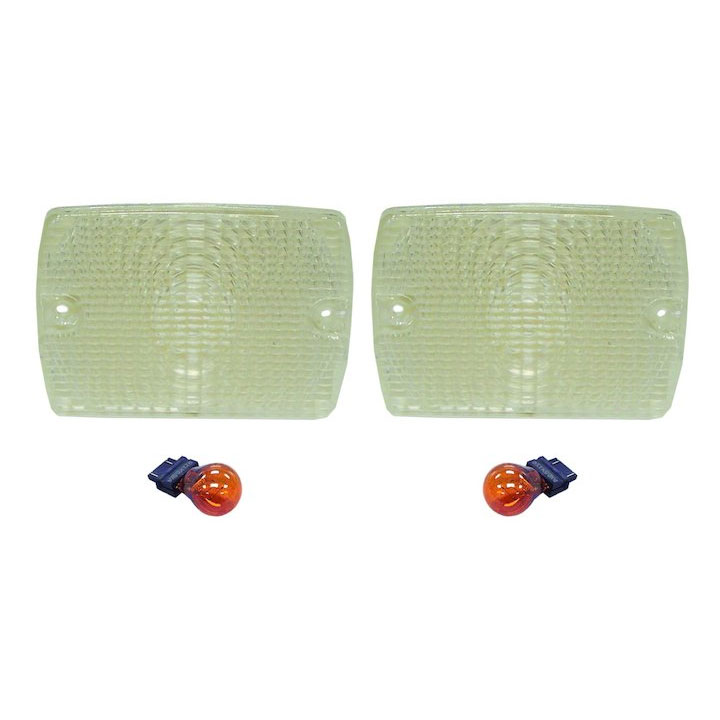 Clear Lens Parking Lamp Kit 87-95 Wranglers