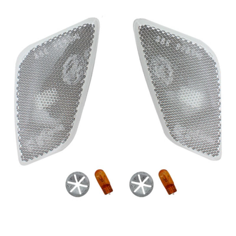 Clear Side Marker Lamp Kit 97-06 Wranglers