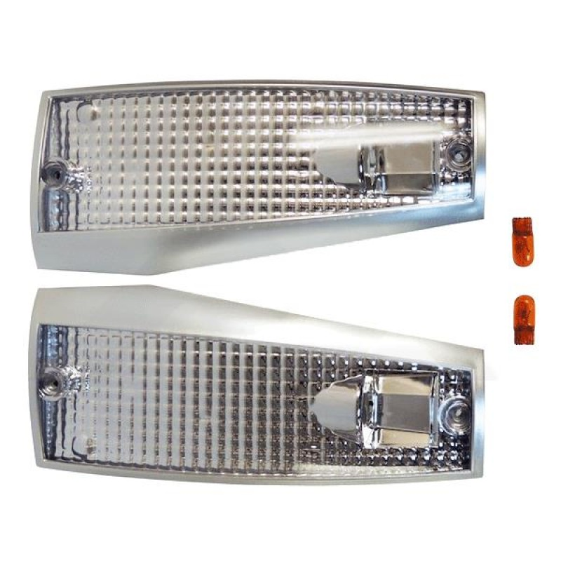 Jeep Cherokee XJ Clear Lens Side Marker Light Kit