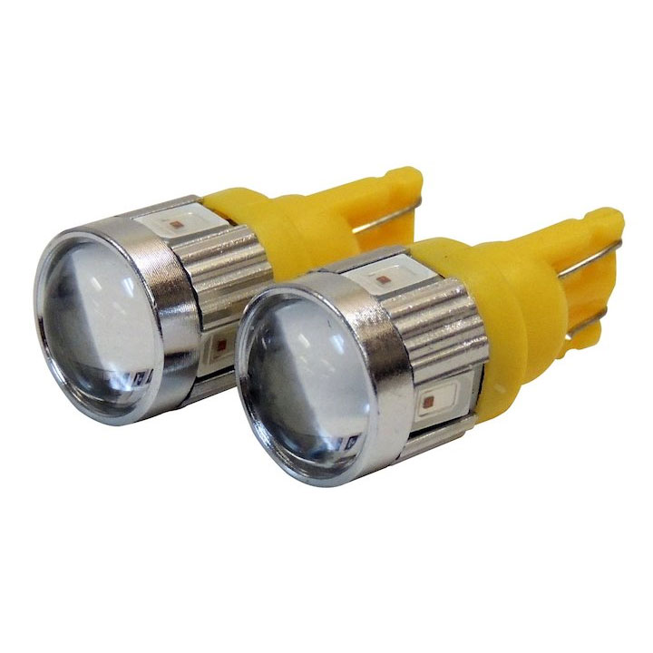 Front Side Marker LED Bulb Kit, 194 Amber LED