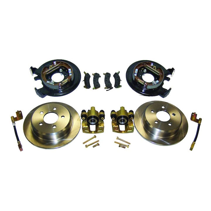 Drum to Disc Conversion Kit, Wranglers, Cherokee
