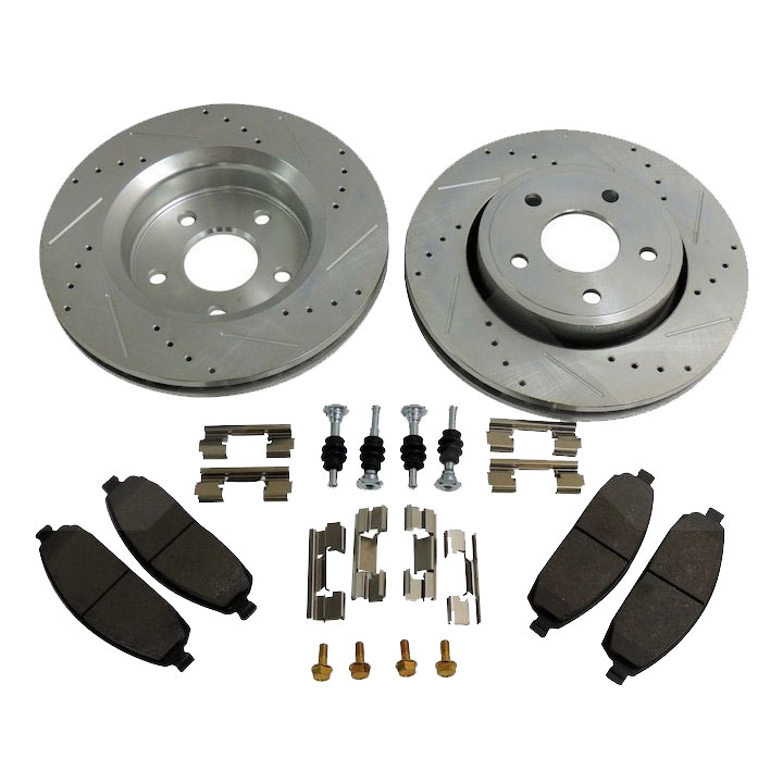 Performance Front Brake Kit, Cherokee WK, Commander XK