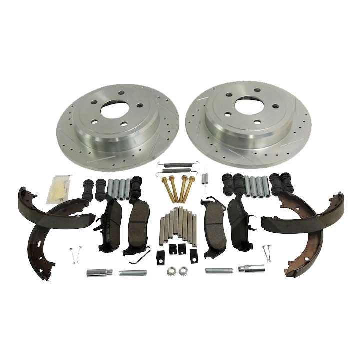 Performance Rear Brake Kit, 05-10 Grand Cherokee WK, 06-10 Commander XK