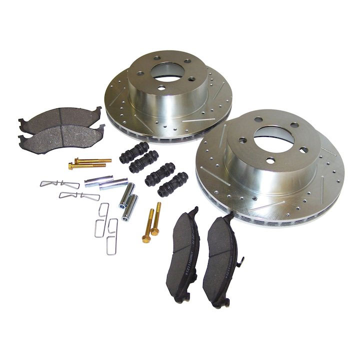 Performance Front Brake Kit 90-99 Wrangler, Cherokee