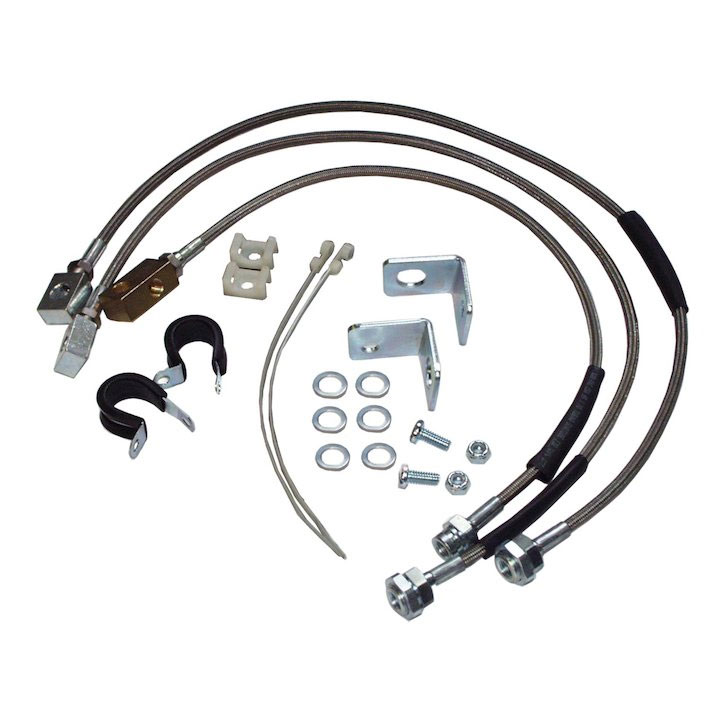 Jeep Brake Hose Kit, YJ TJ XJ ZJ Models