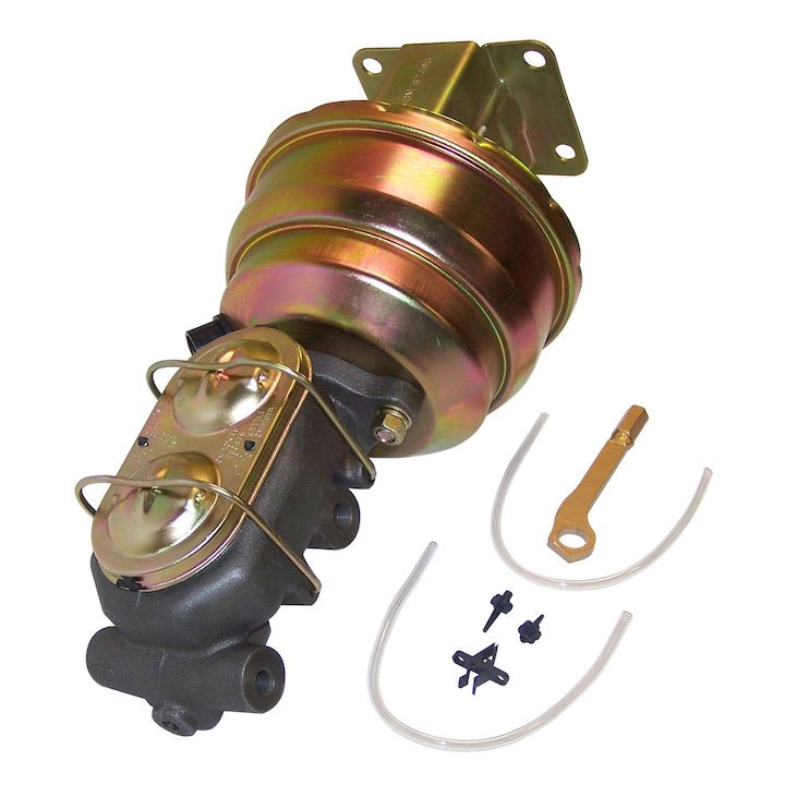 Power Brake Booster Conversion Kit 87-90 Wranglers 1 inch MC