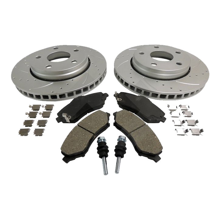 Performance Brake Kit, Front, 07-17 Wranglers JK