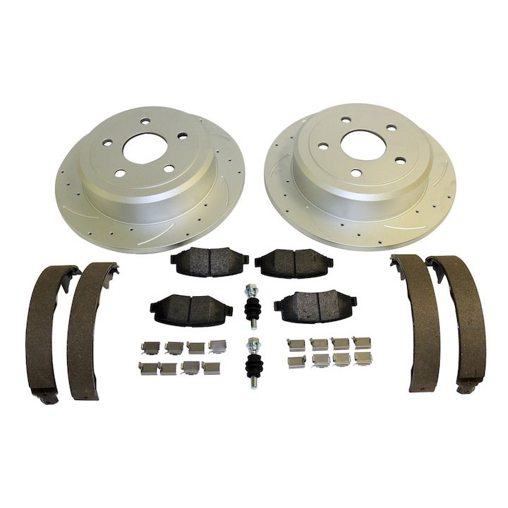 Performance Rear Brake Kit, 07-17 Wranglers