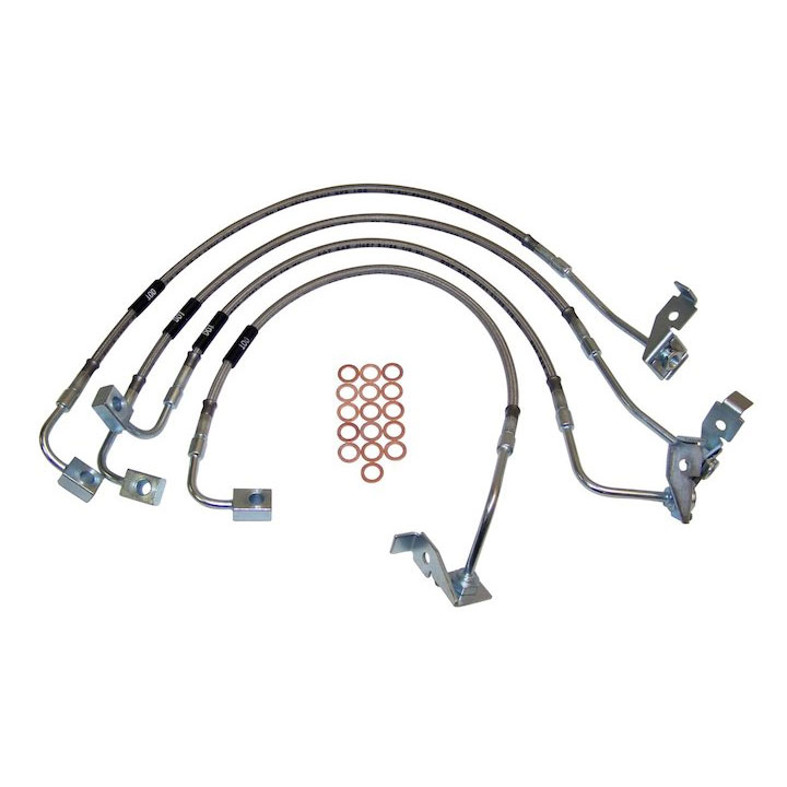 Brake Hose Kit 07-10 Wranglers