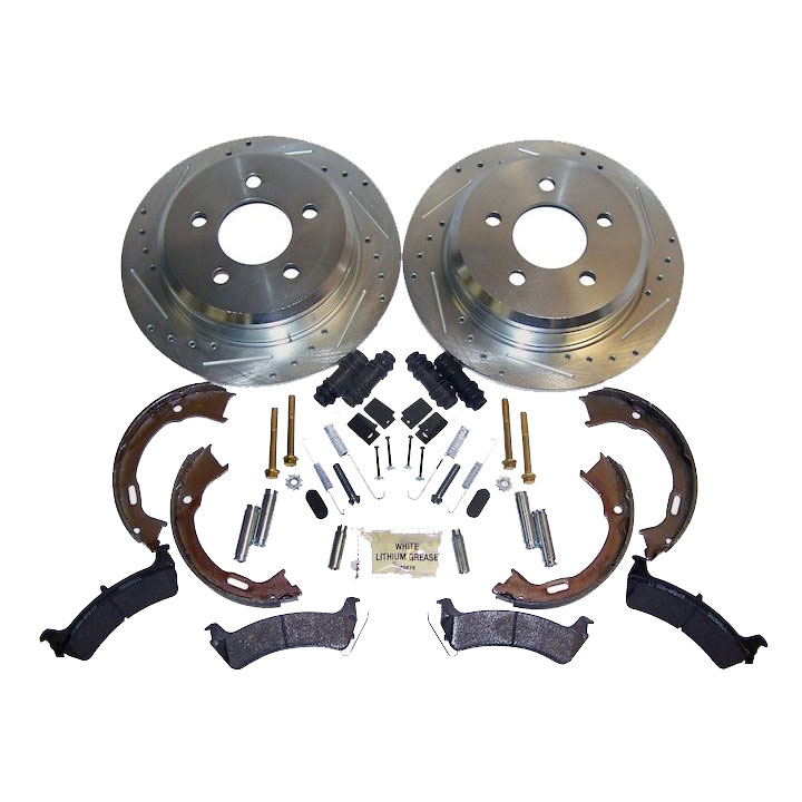 Performance Brake Kit, Rear, 94-98 Grand Cherokee ZJ
