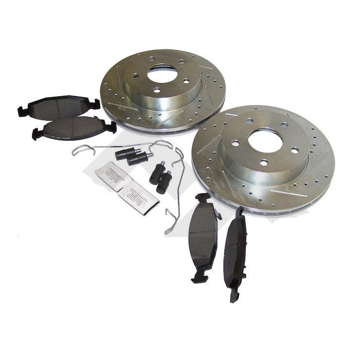 Performance Brake Kit, Front, 99-04 Grand Cherokee WJ