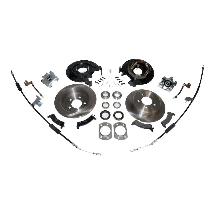 Disc Brake Conversion Kit, Dana 44, No ABS, 97-06 Wranglers