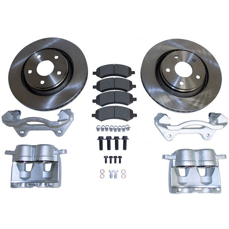Heavy Duty Front Brake Kit, 07-18 Wranglers JK