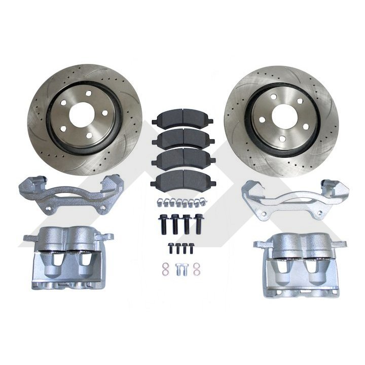Jeep Wrangler JK Front Big Brake Kit