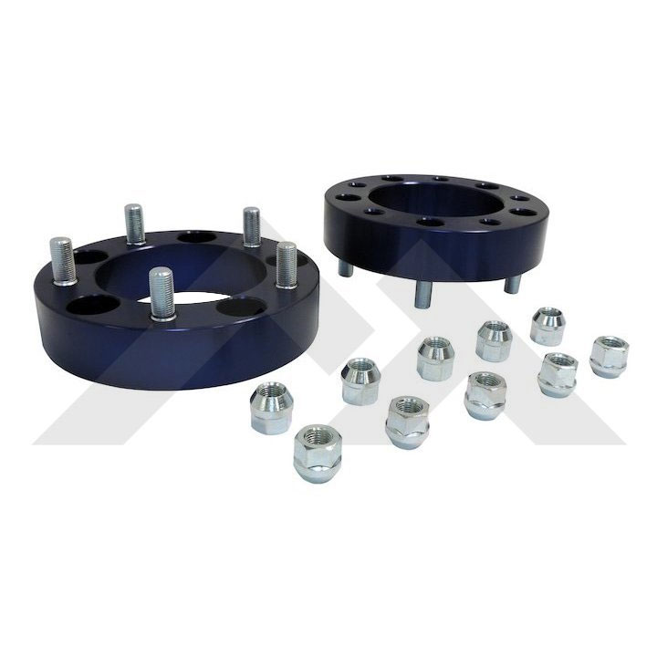1.5 inch Wheel Spacer Set, 5 on 5.5, 76-86 Jeep CJ
