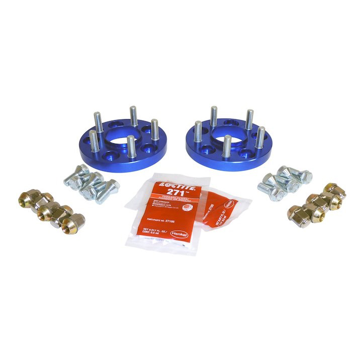 Jeep Renegade Cherokee KL Wheel Spacers, Blue