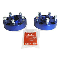 Jeep JL JT 1.50 inch Wheel Spacer Set Blue