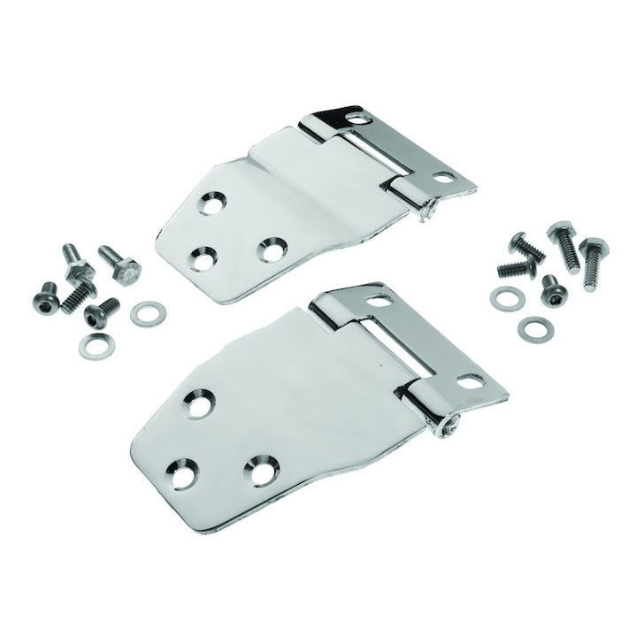 Hardtop Liftgate Hinges, Stainless, 77-86 Jeep CJ7