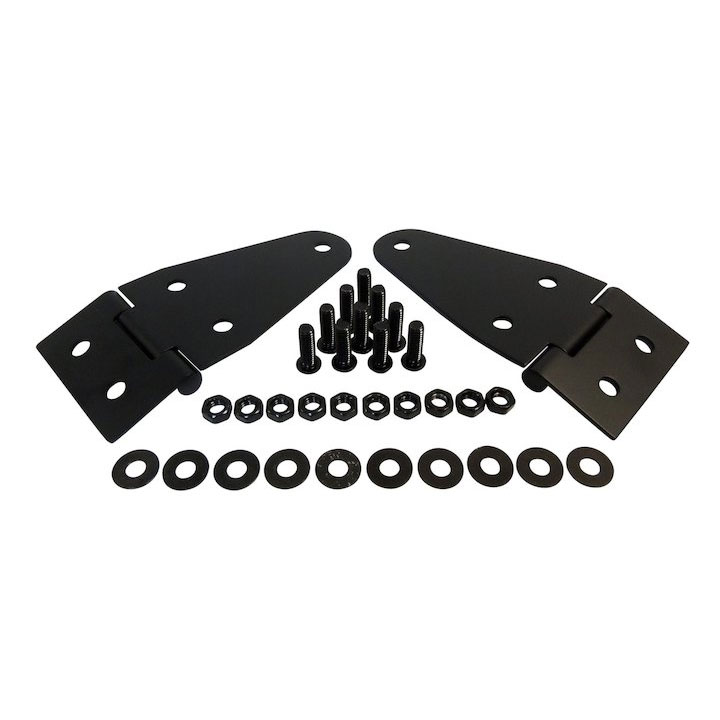 Hood Hinge Set, 55-86 Jeep CJ, 87-95 Wranglers