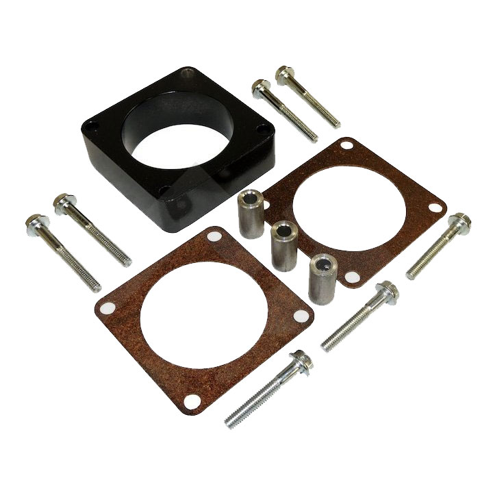 Throttle Body Spacer Kit, 2.5L, 4.0L, Wrangler, Cherokee