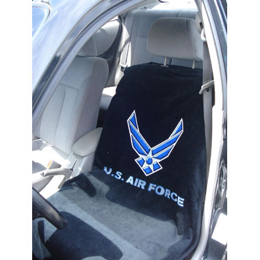 Armed Services Seat Towels with Air Force logo