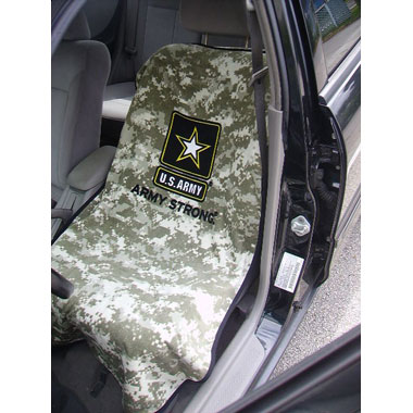 Armed Services Seat Towels with Army Logo