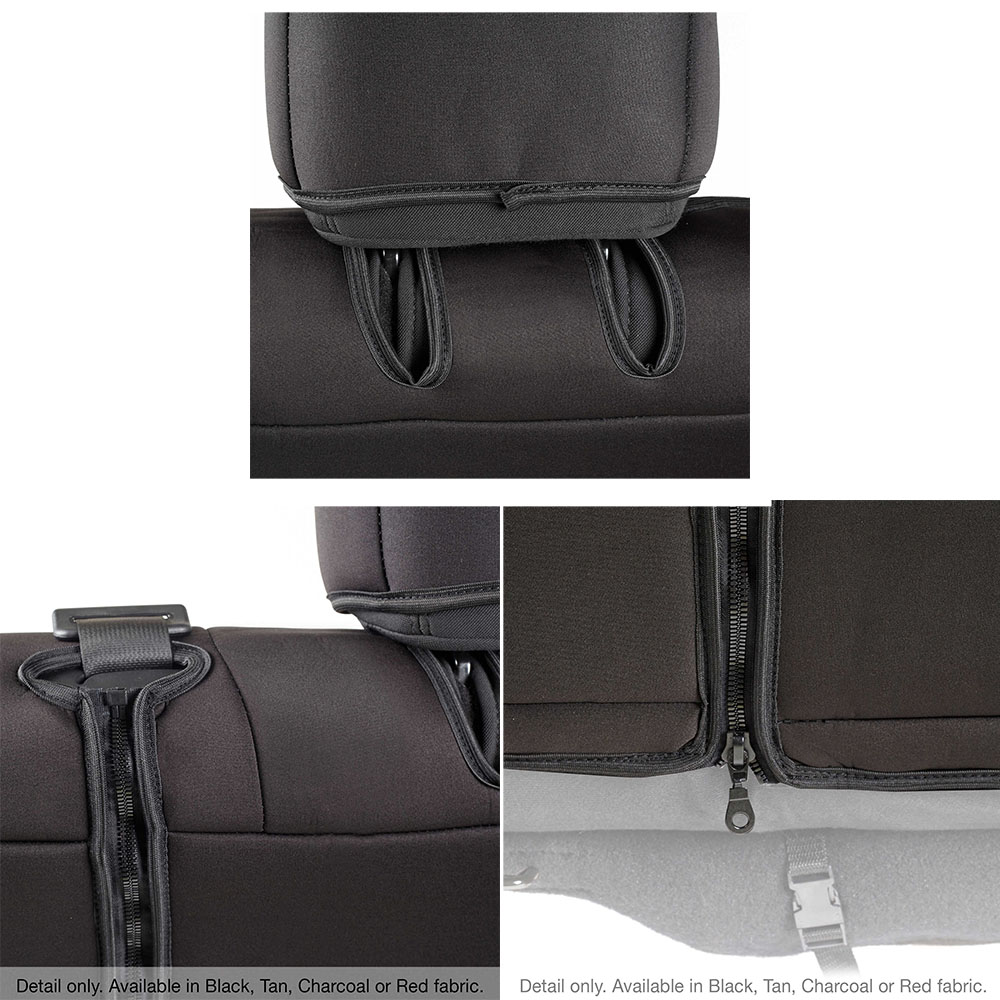 smittybilt 471822 front rear seat covers. Black Bedroom Furniture Sets. Home Design Ideas