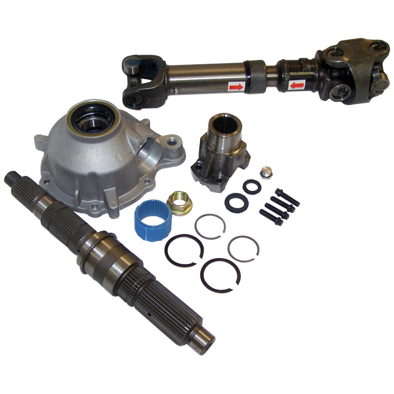 Rt24004 Slip Yoke Eliminator And Shaft Kit 87 06 Wranglers