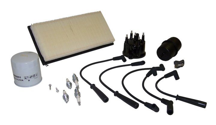 Tune Up Kit, Cherokee 2.5L (1991-1993) (Metric)