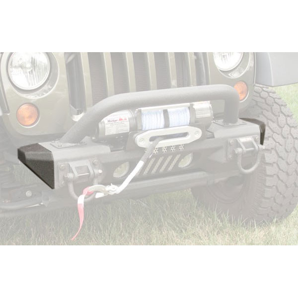 Front Aluminum XHD Bumper with Winch 07-16 Wranglers
