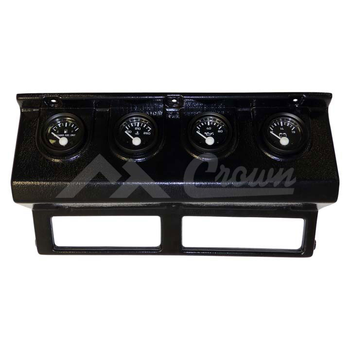 Gauge Panel with Gauges 87-90 Wranglers