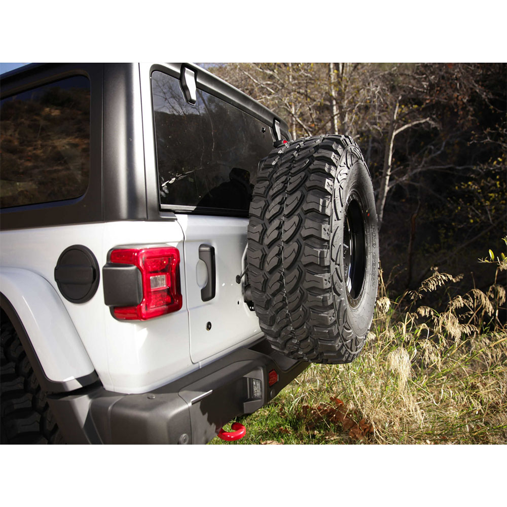 Jeep Wrangler JL Tire Relocation Bracket