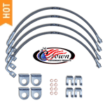 Jeep Brake Lines and Hoses