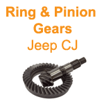 72-86 Jeep CJ Ring & Pinion Gears