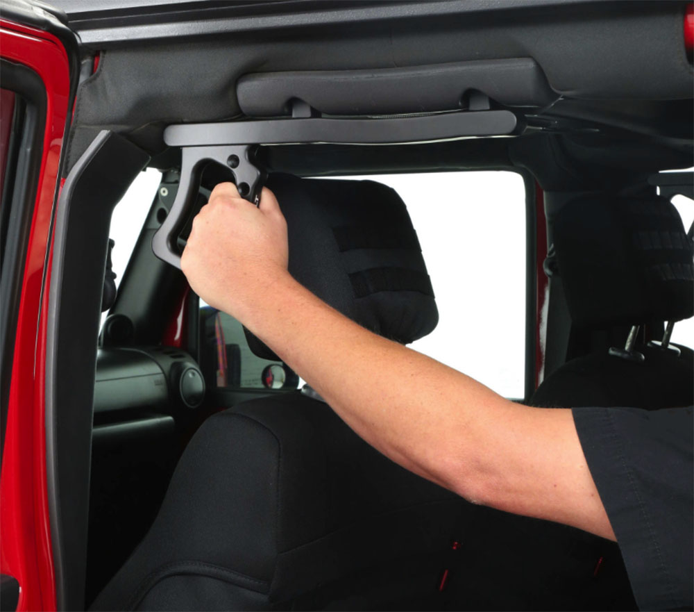 Jeep JK Rear Grab Handles Aluminum