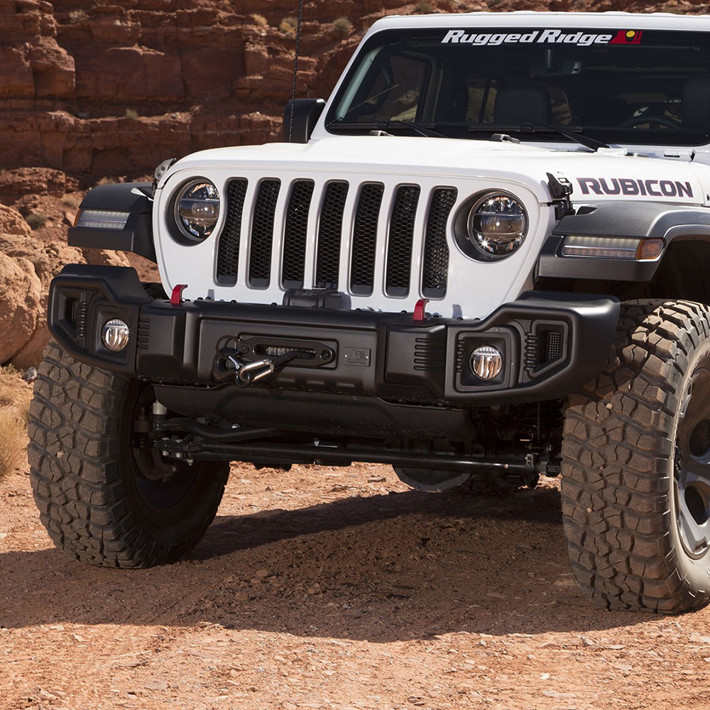 Jeep Wrangler JL Front Winch Bumper