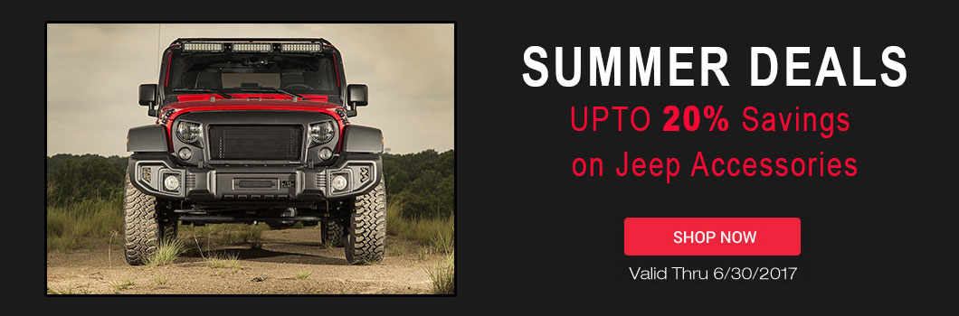 Jeep Accessories Spring Deals