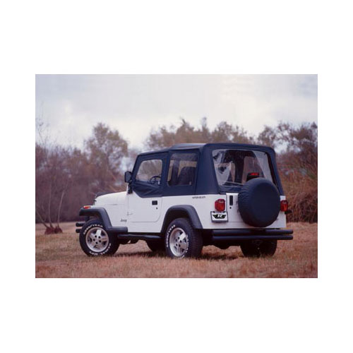 Replacement Soft Top, 1997-06 Jeep Wrangler, Spice Denim